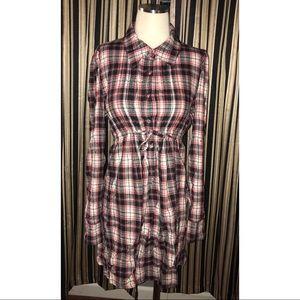 LAmade Dresses - Vintage plaid flannel dress